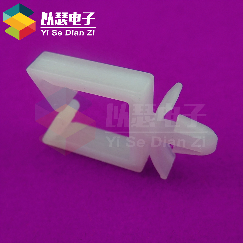 Bolt mounts square shaped rationale clamp line deduction wire clamp holder aircraft CHA-4