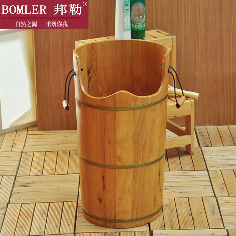 Bonler/bangle 70 high oak cask foot tub feet feet feet barrel barrel barrel footbath foot tub barrel