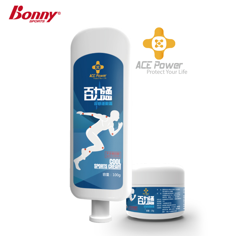 Bonny bonny taiwan百力通briggs kin thermal cool feeling a sense of movement cream massage cream to prevent sports injuries