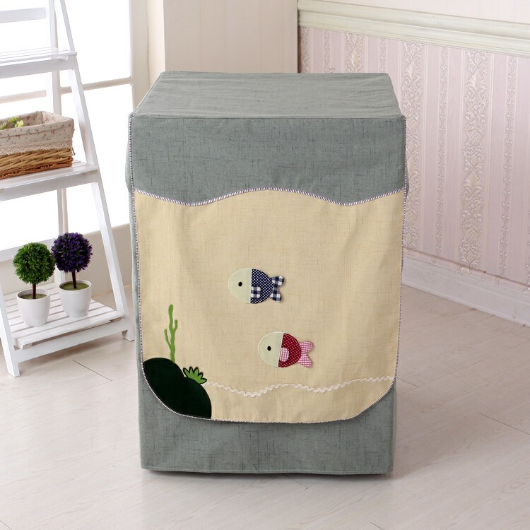 Bosch siemens haier america's lg samsung washing machine cover dust sunscreen small day goose washing machine drum cover