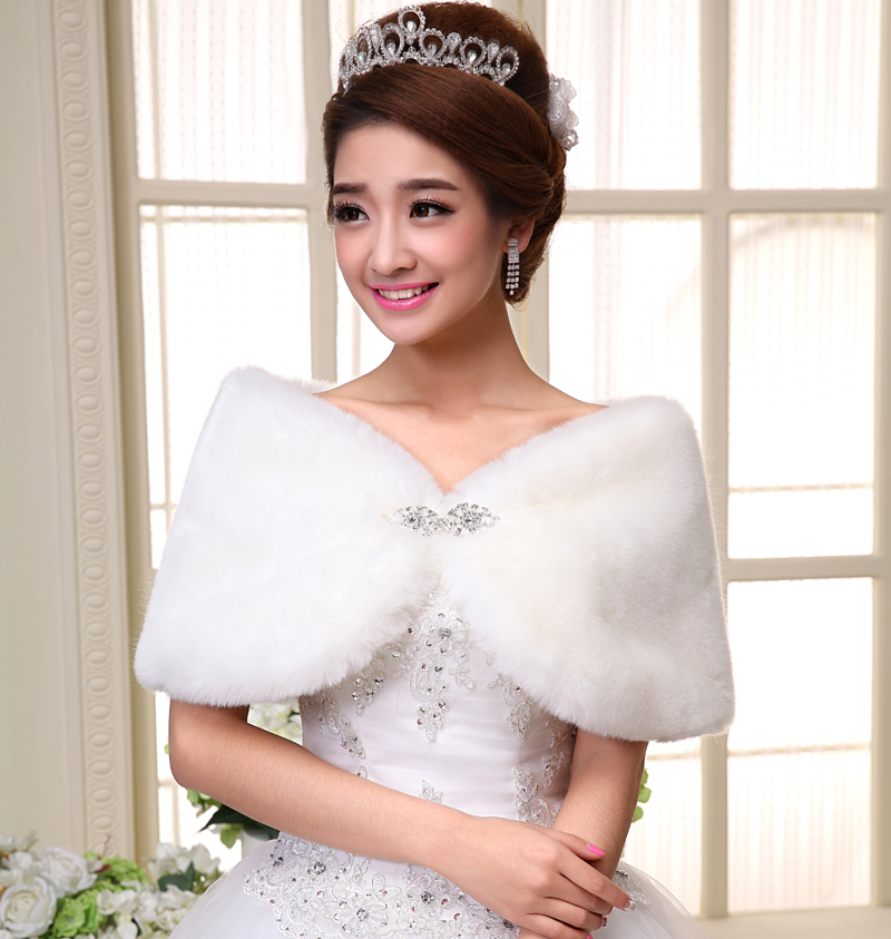 Bride wedding dress wool shawls wedding dress jacket thick warm winter wool shawl bridesmaid dresses
