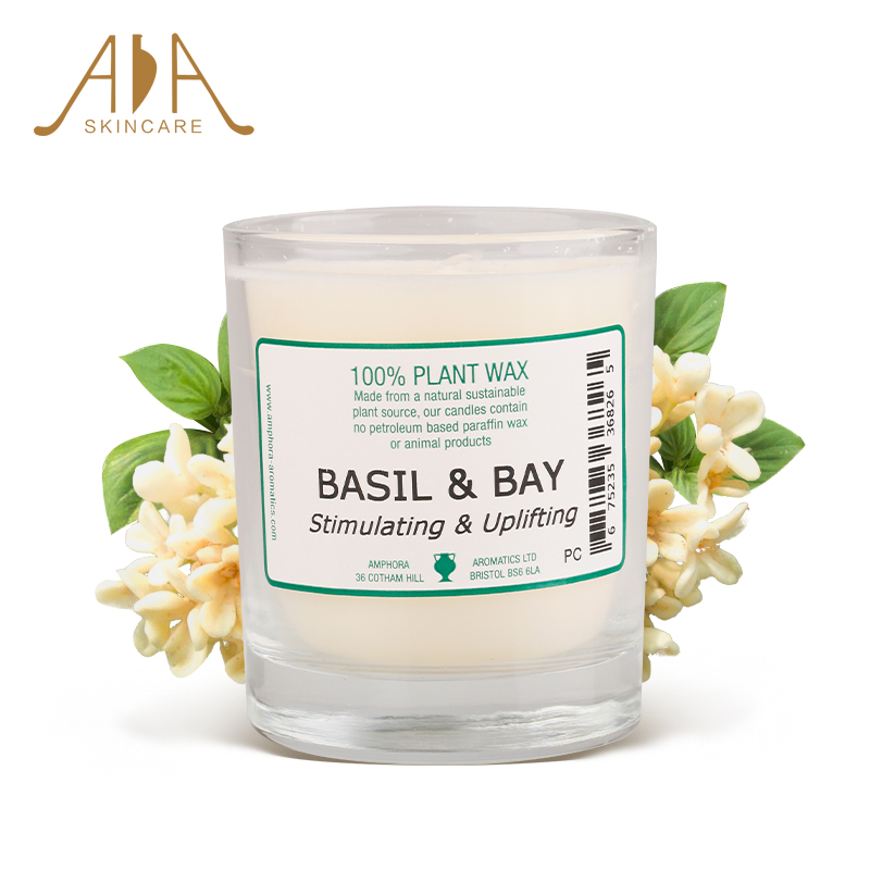 British aa network laurel basil essential oils aromatherapy candles 40 hours aromatherapy candles candles aa network