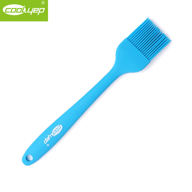 British cool and easy platinum silicone baking temperature grill brush sweep brush kitchen bakeware