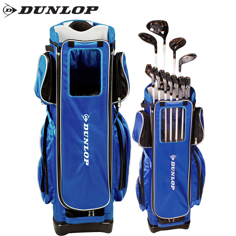 British dunlop official authentic multifunctional golf bag golf ball bucket full set of high capacity of guelph bags