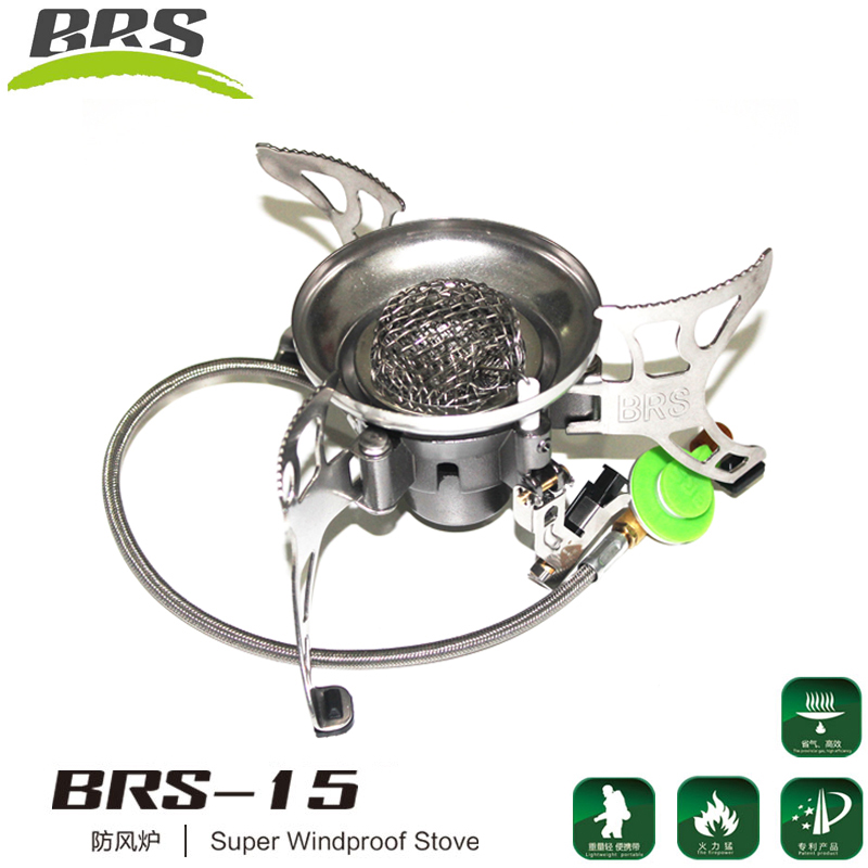Brother brs-15 portable butane gas stove split windproof camping stove burner stove burner stove outdoor barbecue stoves