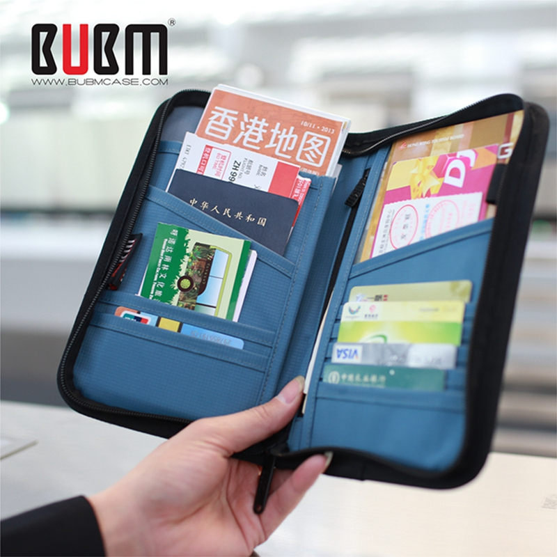 Bubm supplies abroad passport holder passport package multifunction document bag tourism travel wallet card package ticket package