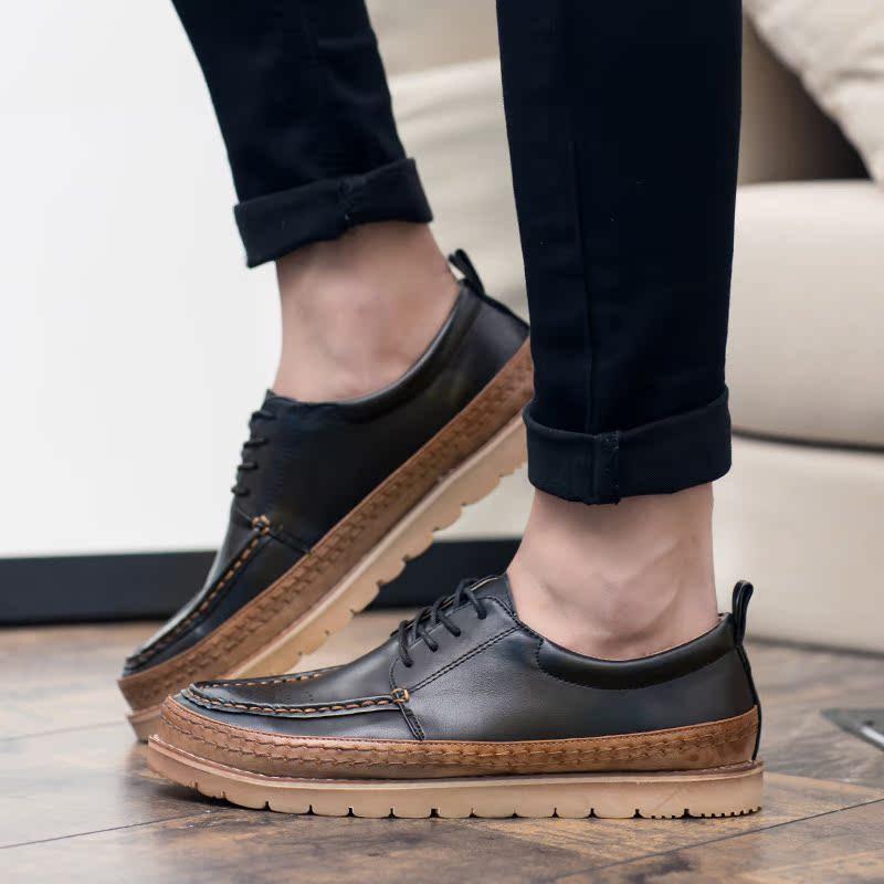 57927dbb162d Get quotations bullock shoes men casual shoes british style trend of  japanese men retro shoes tide