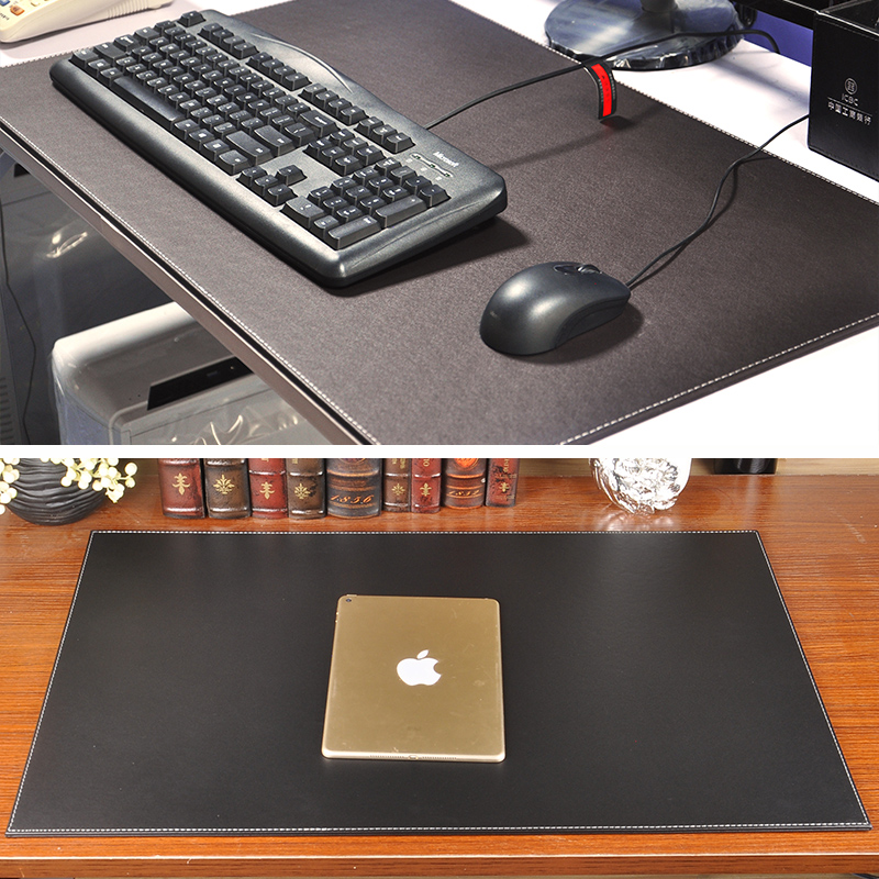 Business desk pad leather desk pad writing pad wordpad oversized mat computer hard mouse pad korea