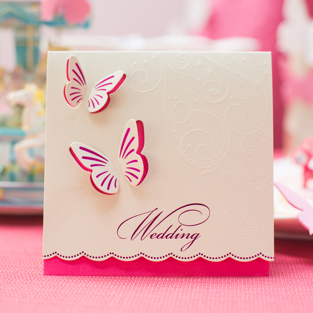 China Butterfly Invitation Cards, China Butterfly Invitation Cards ...
