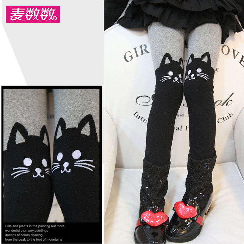 Buy 3 to send 1 children fall and winter thick terry cotton socks girls dance socks white pantyhose bottoming big boy Socks
