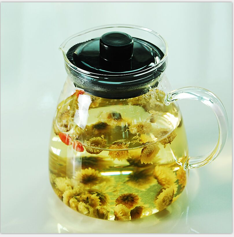 C kára teapot high temperature filter glass teapot transparent heat resistant glass tea pot glass tea