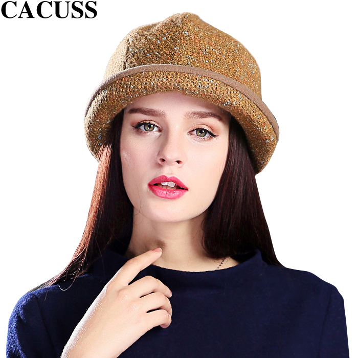 Cacuss ms. autumn and winter days wool cap wool hat knitted winter hat korean tidal ms. exquisite accessories female