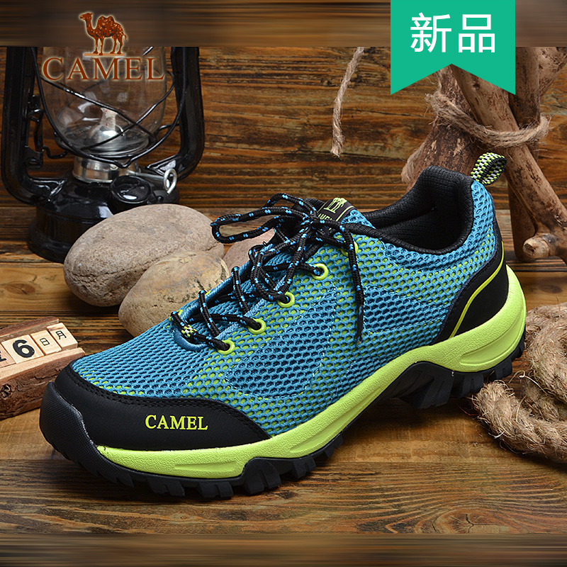 Camel/camel men's 2016 new summer mesh breathable sports shoes to help low outdoor leisure shoes 5T2345104
