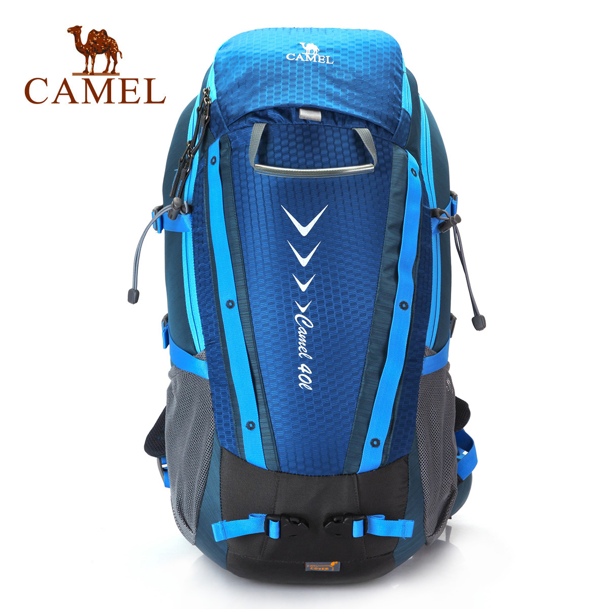 Camel camel men's outdoor hiking backpack travel bag men and women outdoor mountaineering bag large capacity