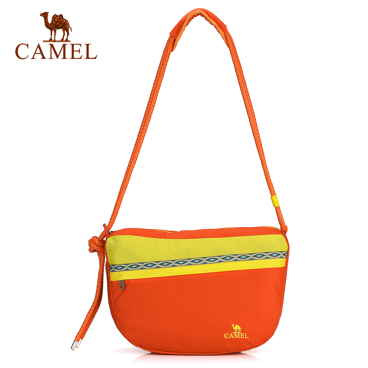 Camel camel outdoor leisure mountaineering bag shoulder bag years of the new couple outdoor travel bag