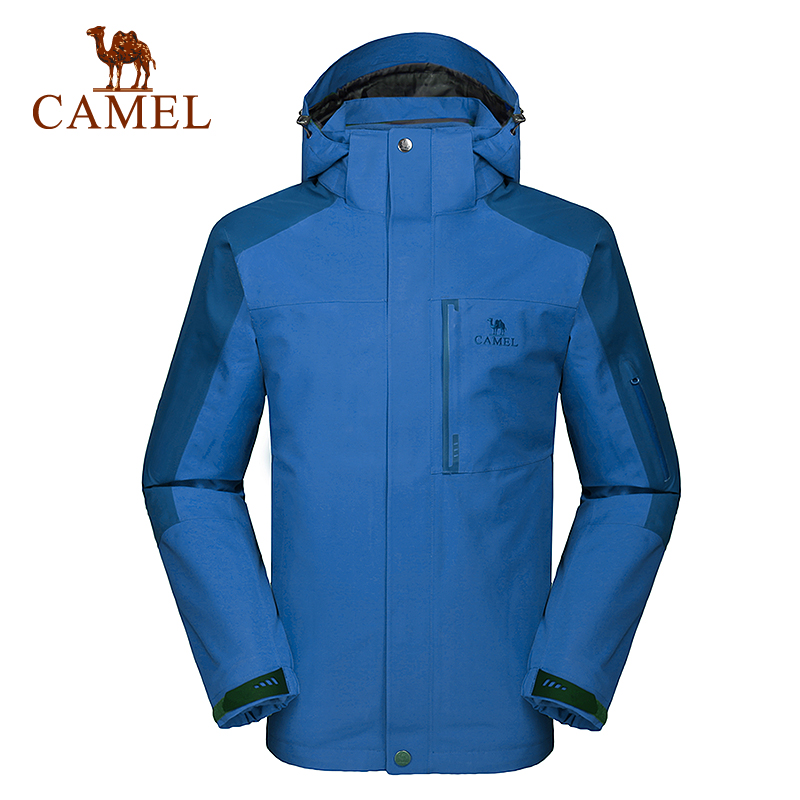 Camel outdoor jackets mens jackets windproof outdoor warm autumn and winter camping 114W83002