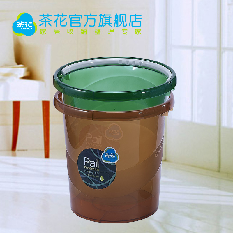 Camellia large household food grade bucket mop bucket bucket thicker plastic bucket storage bucket car wash bucket large storage tank barrels