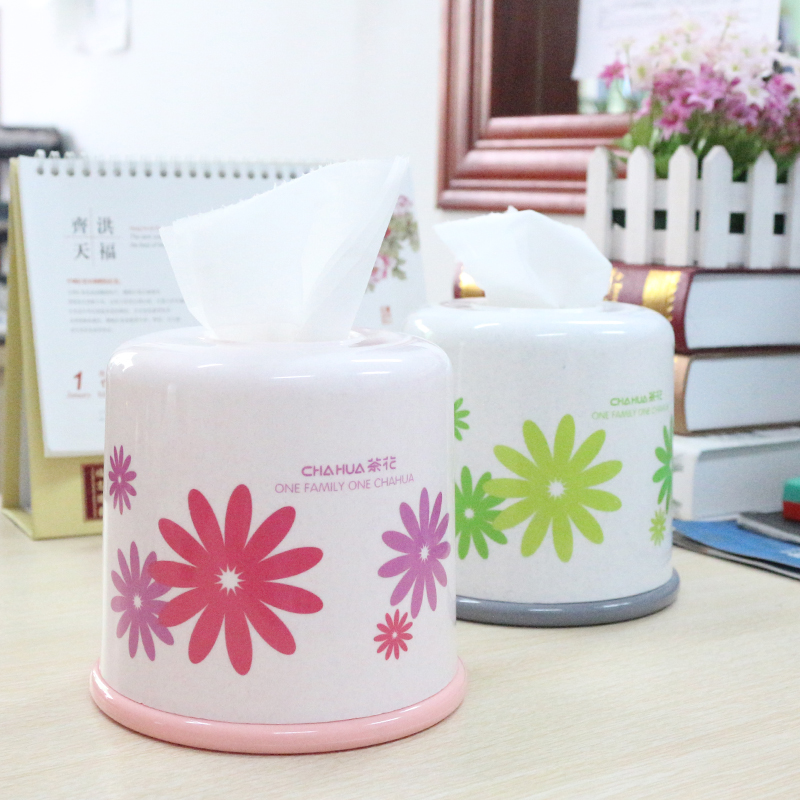 Camellia toilet paper tube toilet paper towel tube towel tube tissue box cute fashion creative reel spool rolls tissue box tissue box