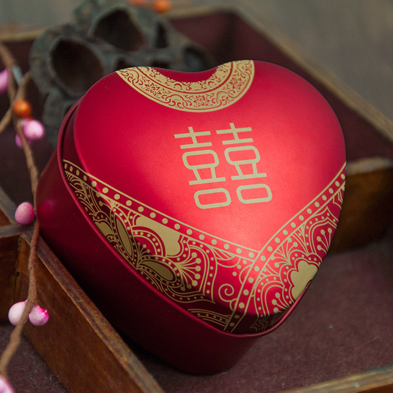Candy box creative wedding supplies 2016 red chinese style wedding candy box candy tin box gift box packaging