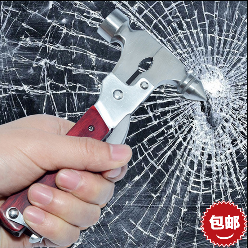 Car multifunction car safety hammer hammer broken windows lifesaving device car lifesaving hammer car safety hammer escape life supplies