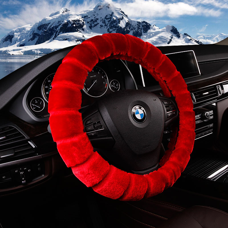 Car steering wheel cover to cover plush winter handlebar steering wheel cover cluj zimai teng women paul warm the sets