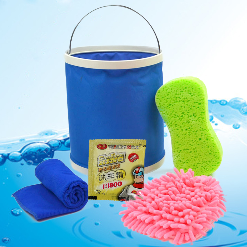 Car wash car wash car wash supplies kit household composition tool kit combination car wash car wash towel deerskin towel cleaning towel