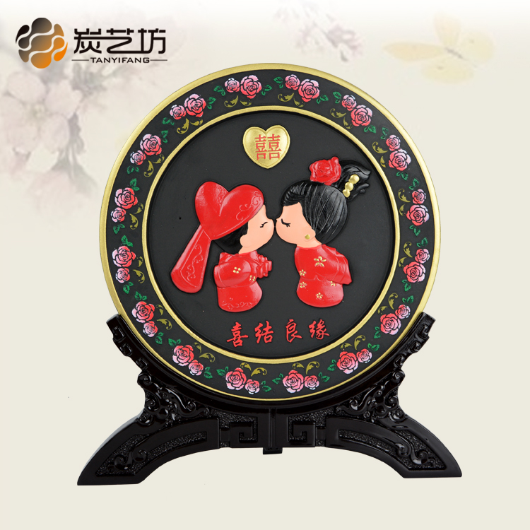 Get Quotations · Carbon carving wedding gifts upscale fashion ornaments wedding room furnishings and practical wedding gifts to send