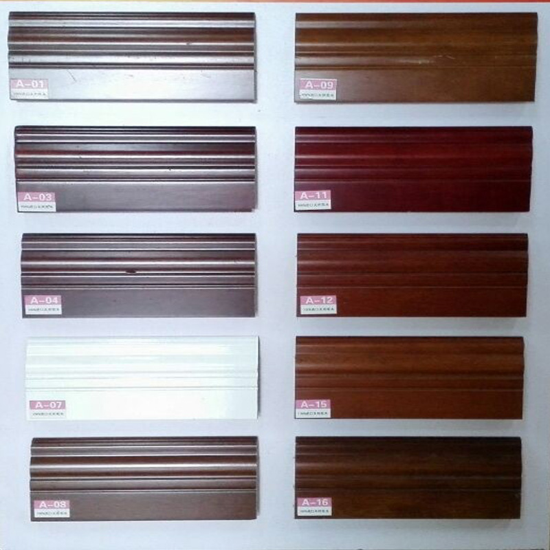 Card high floor pure wood flooring accessories special flat paint antique wood baseboard foot line
