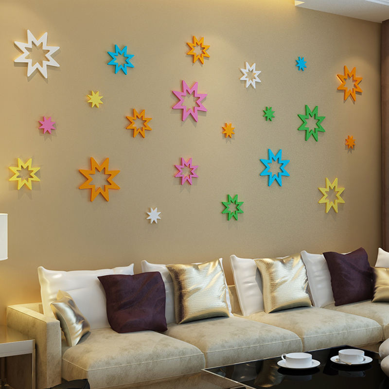 Get Ations Carpenter Is Still Good Por Stereoscopic Wall Stickers Decoration Hiness Flower China Decor
