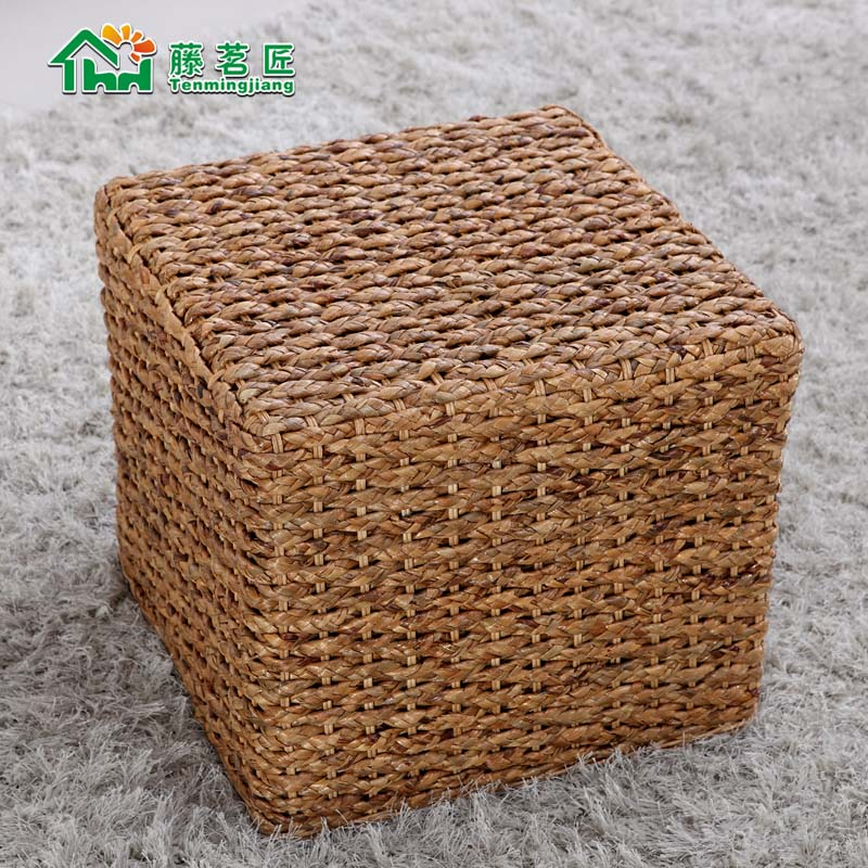 Carpenter ming rattan 㣠rattan sofa rattan sofa rattan chair rattan furniture rattan wicker chair factory direct AHC-011A square stool specials