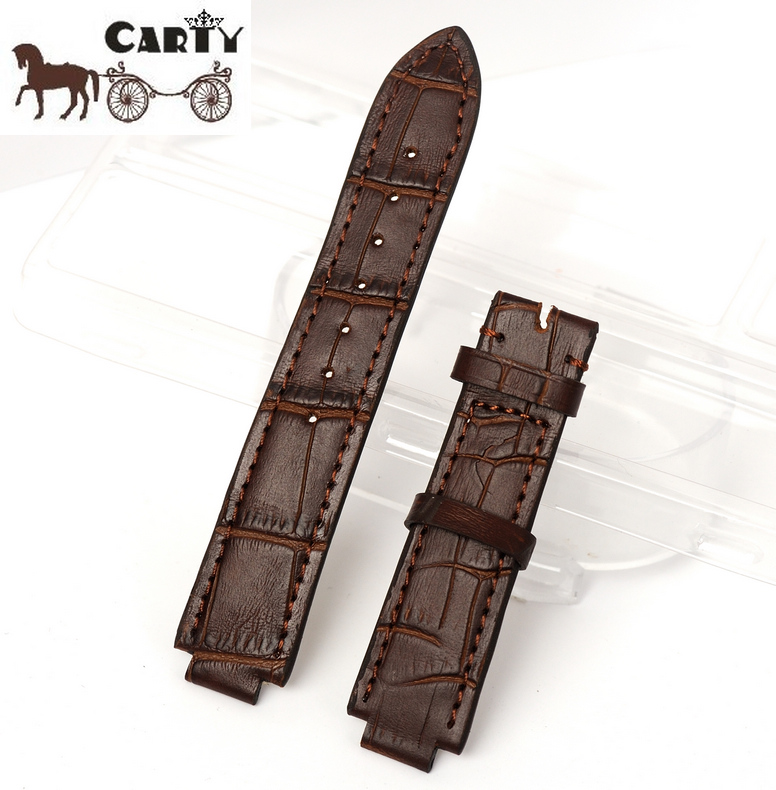 Carty cowhide leather strap bracelet watch accessories cartier blue balloon pin debit send white
