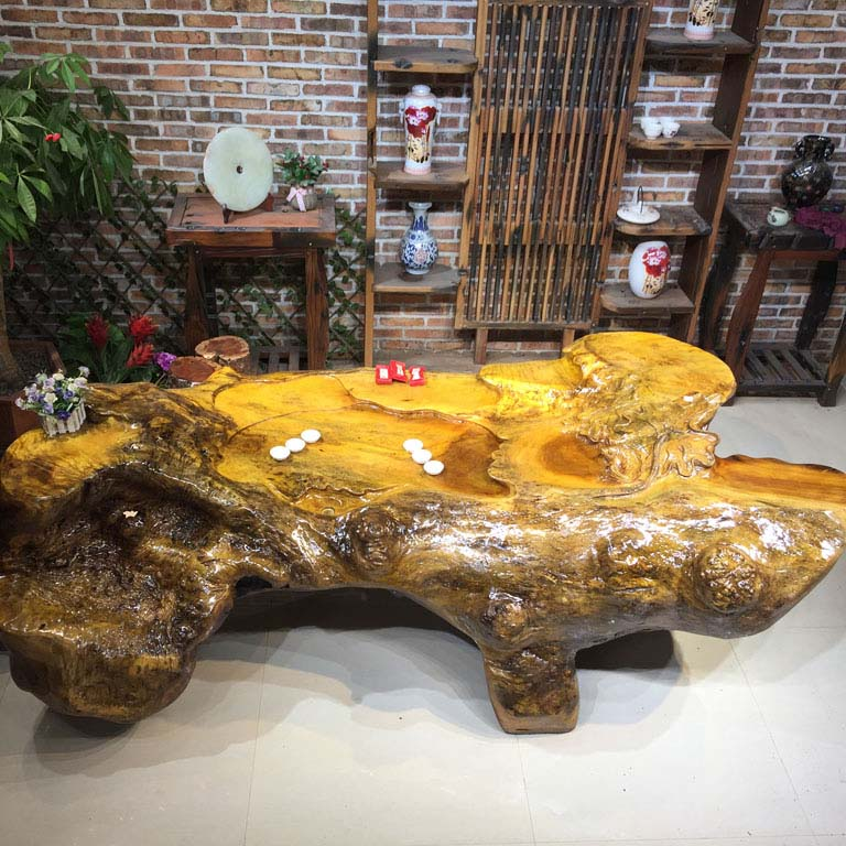 Carved coffee table overall root tea table tea table tea sets carved gold phoebe phoebe coffee tree root carving coffee table tea sea
