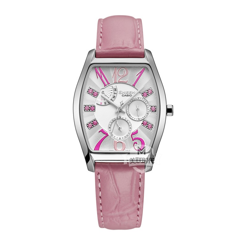 Casio watches casio ladies watch genuine female form large dial diamond fashion watches SHE-3026L-7A2