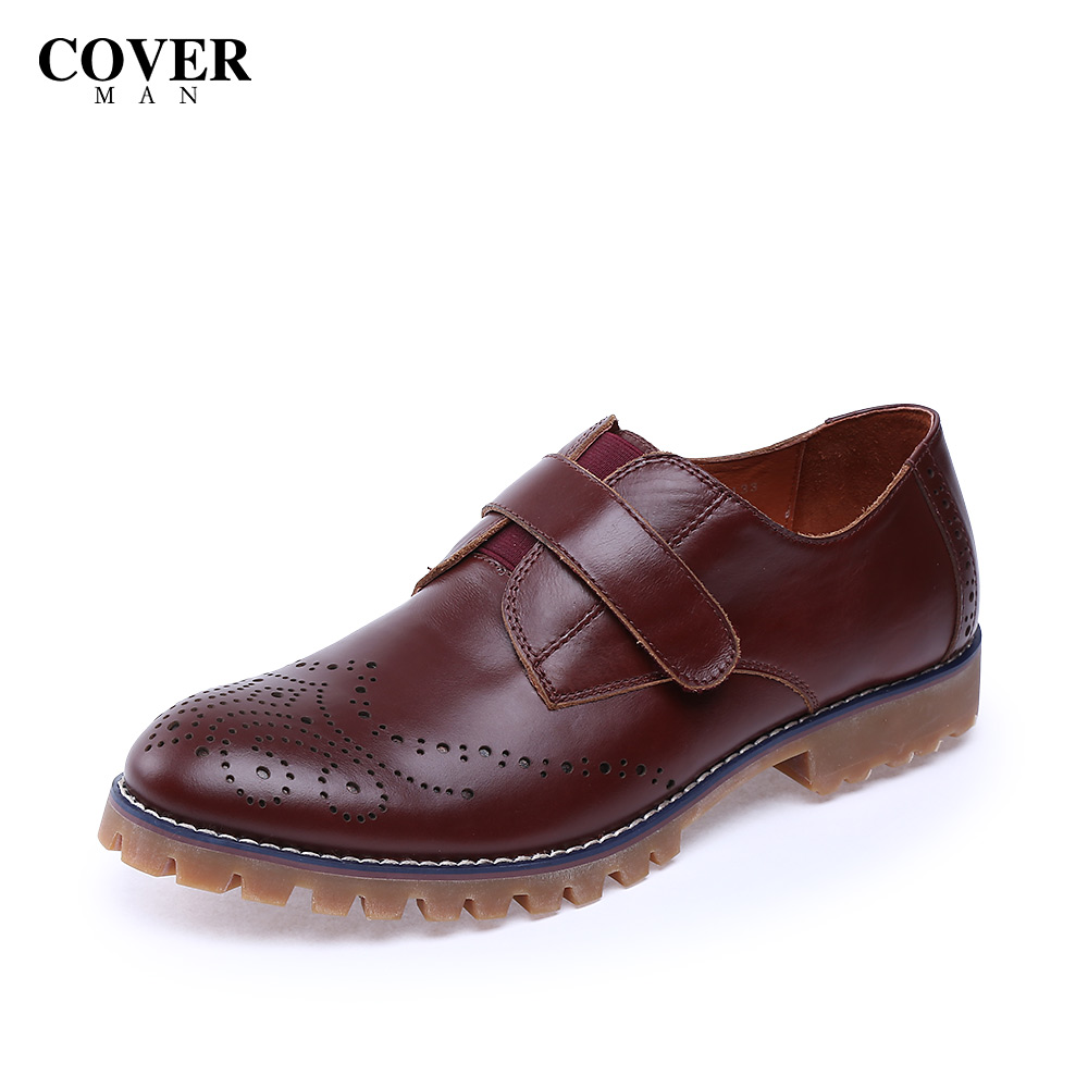 Cavan/cover2015 waxing leather bullock england autumn men's business casual shoes CS55133