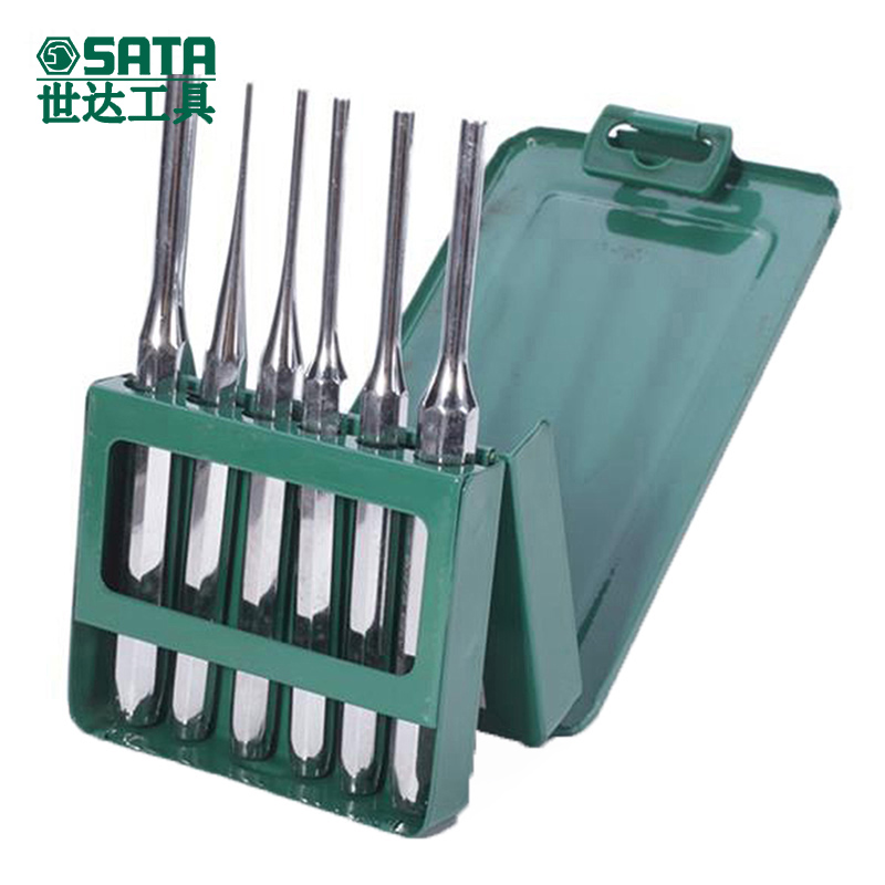Cedel tool pin punch set hardware tool kit 6 sets of hand tools import tool 09162