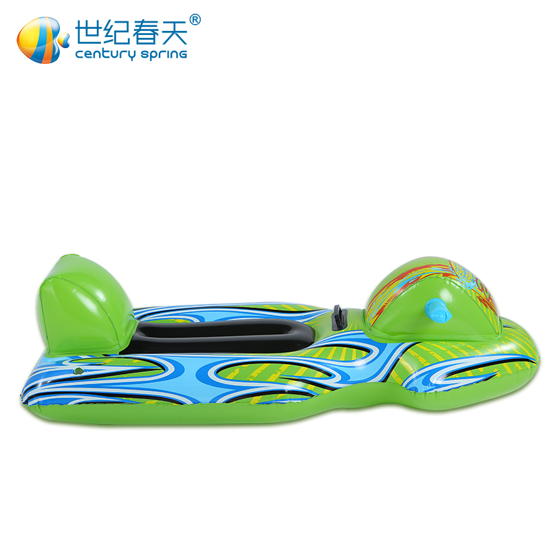 Century spring baby inflatable swimming boat ride boat motor boat floating boat ride water toys for children play in the water toys