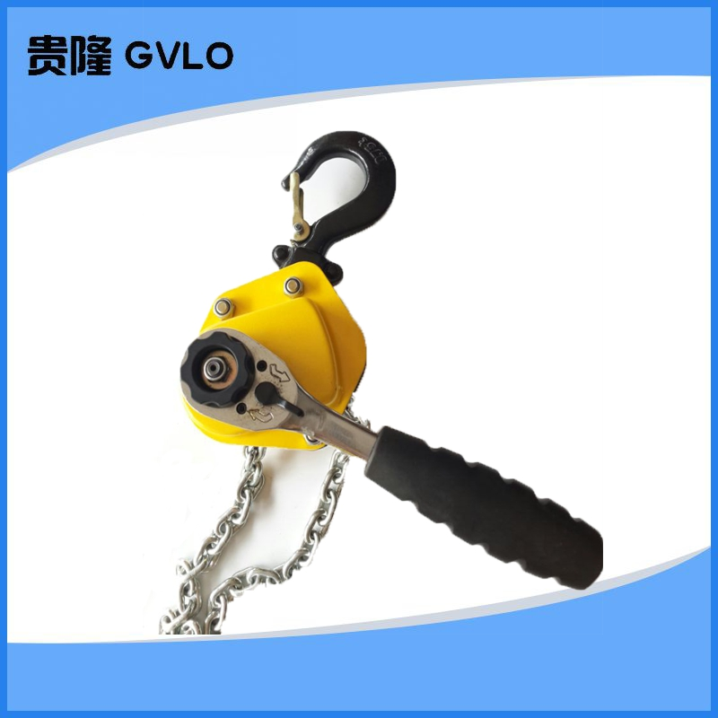 Chain hoist/chain fastener/tensioner/ultralight hand lever hoist 0. 25 Tons of 9 metres fastening device