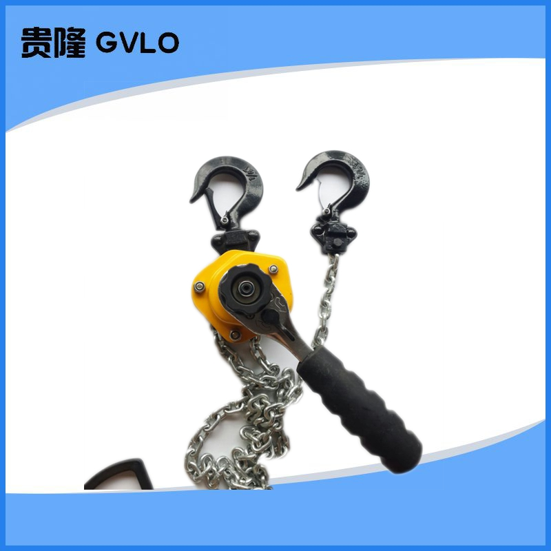 Chain hoist/chain fastener/tensioner/ultralight hand lever hoist 0. 5 Tons of 3 m with the invoice