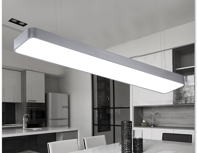 suspended office lighting. Chandelier Modern Minimalist Aluminum Led Office Work Room Lighting Lamp Light Bar With Suspended