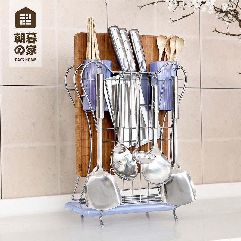 Chaomu home kitchen shelving metal floor wall multifunctional kitchen supplies kitchen knife rack storage rack