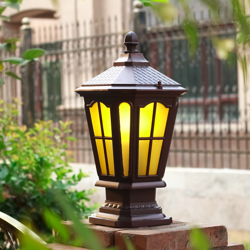 Chapiter lamp european outdoor landscape garden lights waterproof outdoor lights wall lights garden lights garden wall lamp post lights
