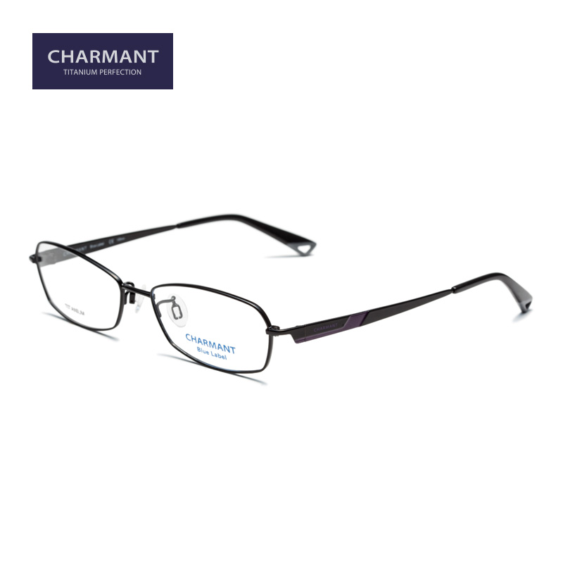 Charmant chamon glasses frame glasses male ms. titanium alloy small box myopia optical glasses box 19908