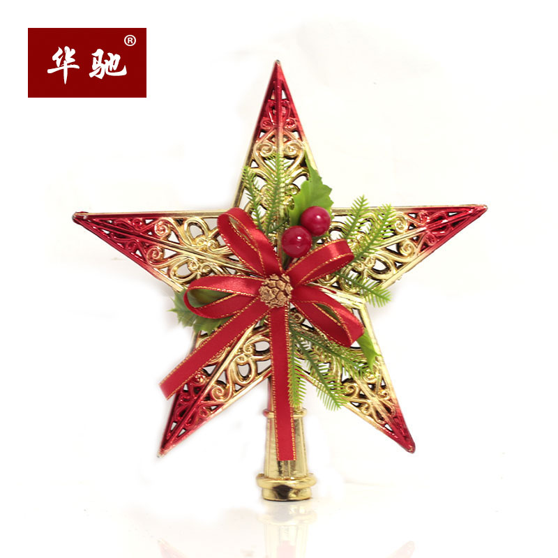Chi christmas jihong upscale pine trees christmas tree topstar topstar christmas decorations supplies 20cm toppings