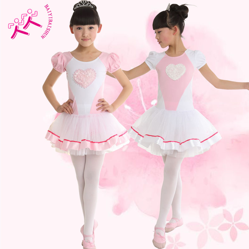 Children dance clothes girls dance ballet skirt children's spring and autumn children's dance clothing dance clothes and female