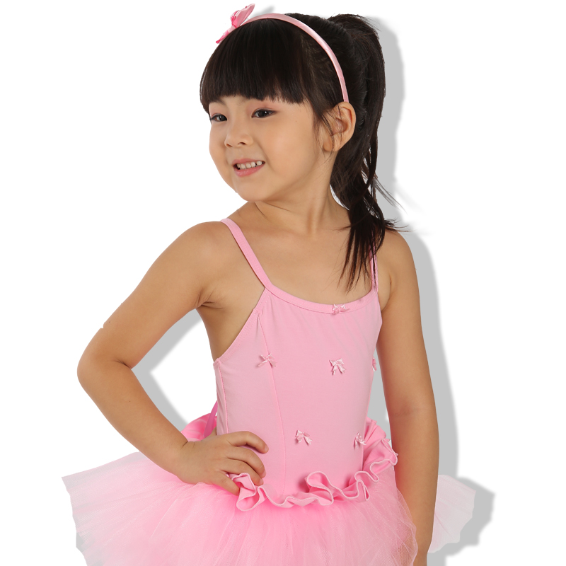 Children dance clothes sling gauze dress costumes stage performance clothing girls summer girls ballet summer