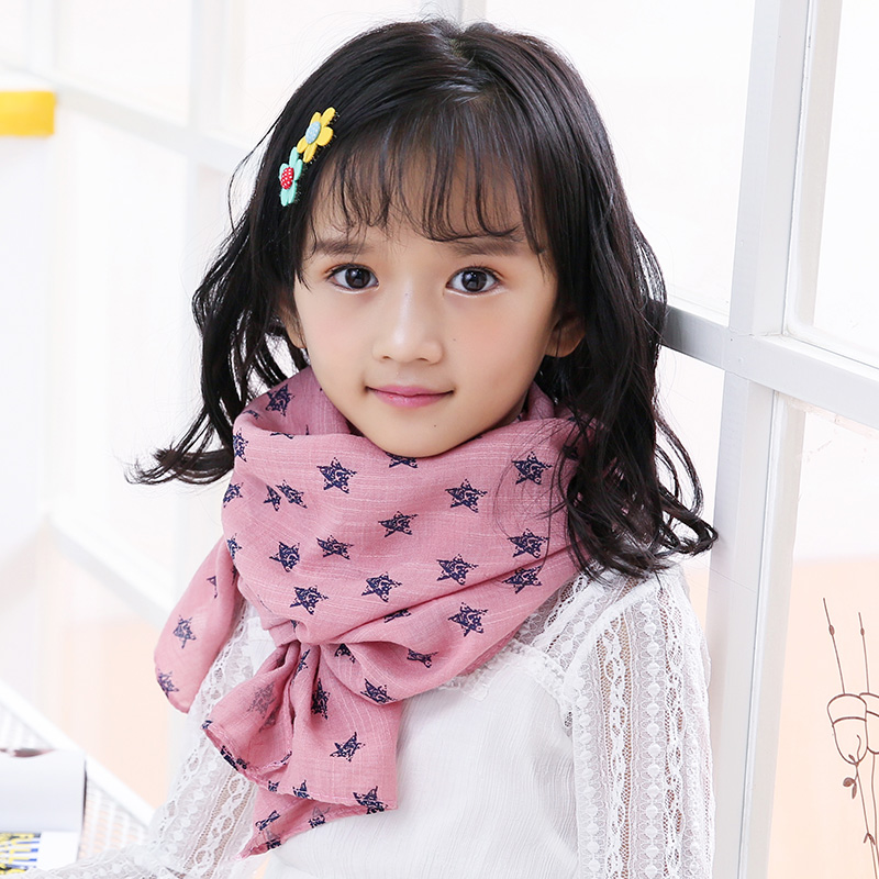 Children fall and winter scarves scarves korean girls summer korean boys and girls in autumn and winter cotton baby paternity