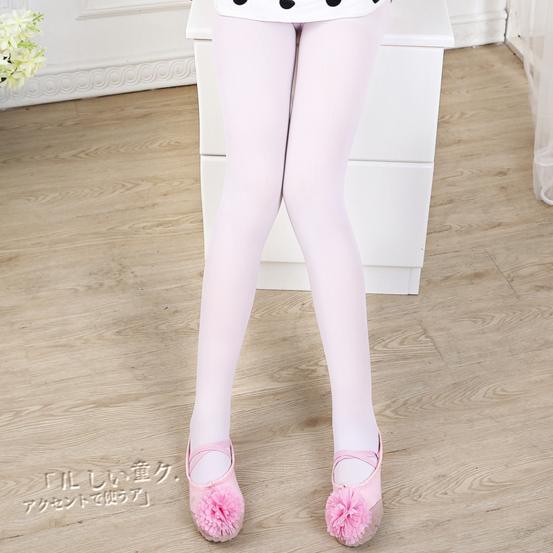 4fcabd977 Get Quotations · Children s ballet dance socks white pantyhose bottoming socks  girls socks dance class practice socks stockings