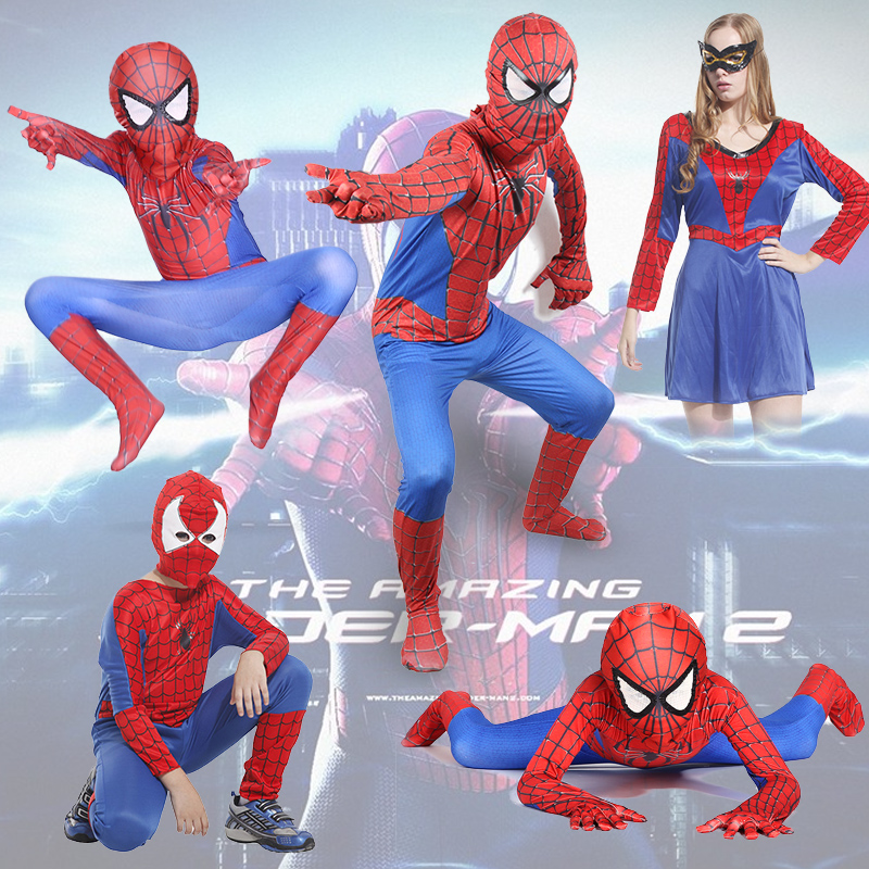 Childrenu0027s halloween costume cosplay costume adult siamese children tighty whiteys amazing spiderman clothes  sc 1 st  Shopping Guide - Alibaba & China Black Spiderman Costume China Black Spiderman Costume ...