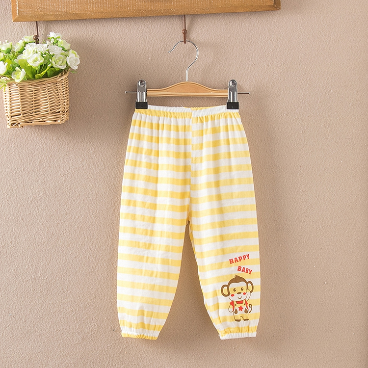4aa069f8ca Get Quotations · Children s summer bloomers cotton gauze pants for boys and  girls casual baby mosquito trousers air conditioning
