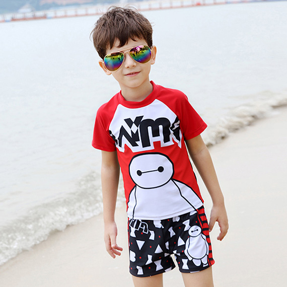 Children's swimwear baby boy suit split piece suit zhongshan university tong xuesheng boy hot springs bathing suit swimsuit big yards